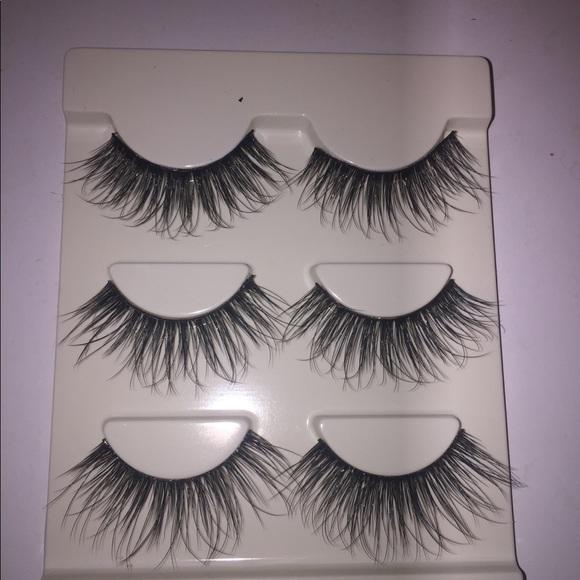 Makeup 3 Pairs Voluminous Sexy Long Eyelashes Sale Poshmark